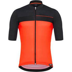 Santini Stile Maillot de cyclisme à manches courtes Homme, arancio fluo